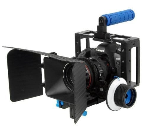 Morros DSLR Cage Set Including Camera Rig Cage w/ Follow Focus & Matte Box