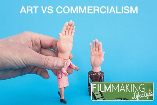 art vs commercialism