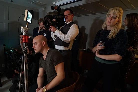 filming vips