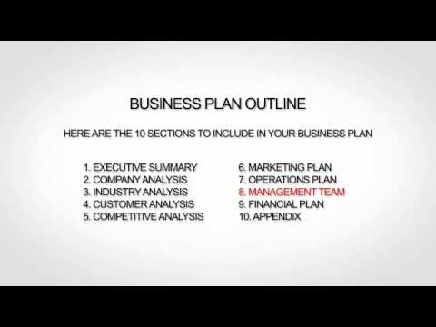 business plan of any company