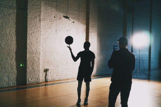 filming sports